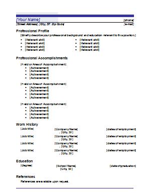 functional resume stewart cooper coon