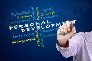 personal development collage