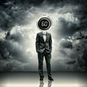 Relaunching after 50 - businessman-with-stopwatch-head--time-concept