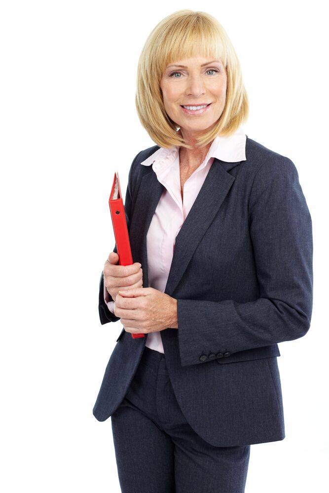 first-day-at-new-job-business-woman-holding-red-folder