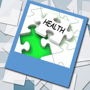 Health Photo Shows Medical Wellness And Self Care