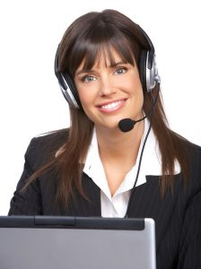 Marketing Career - woman with headset_smiling