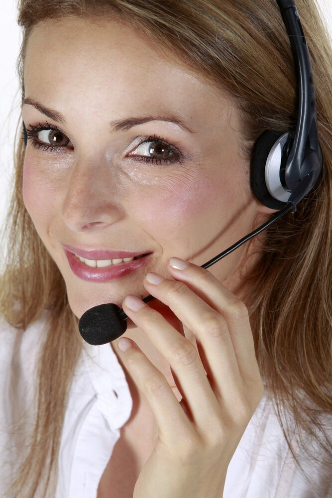 Hiring Managers and Recruiter Communications - woman on phone headset