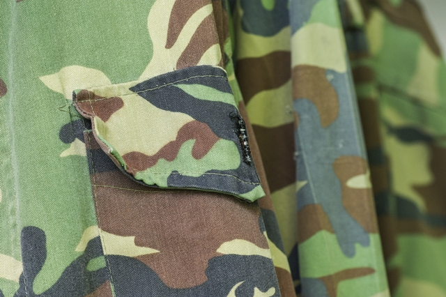 Military uniform fabric