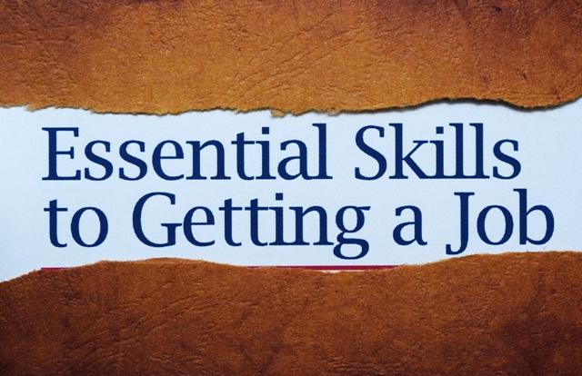 Essential skills to get job