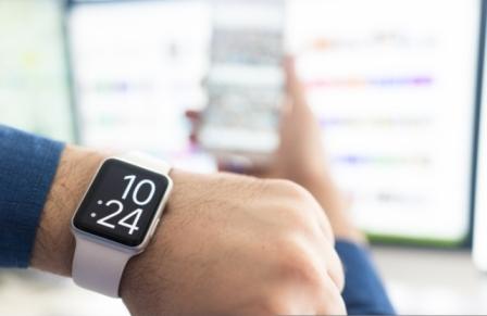 Using smart watch