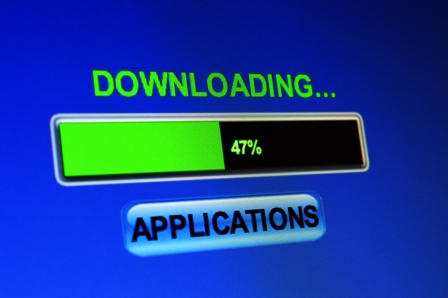 Downloading applications