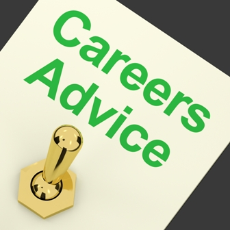 Careers Advice Switch On Shows Employment Guidance And Decisions