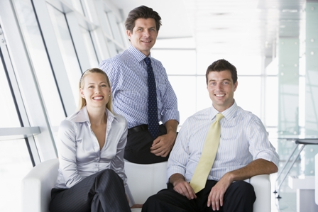 Diplomacy in the Workplace - Three employees_content