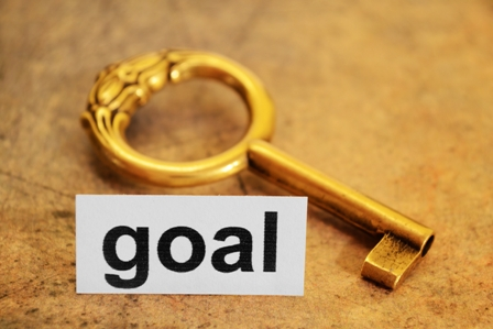 Company-Purpose-Goal-sign-and-gold-key