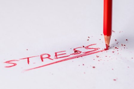 Stress Free Ways of Taking on New Work Projects - Red writing_STRESS