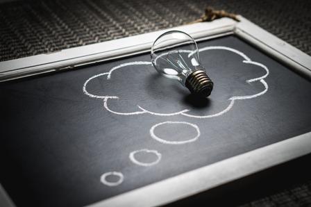 Protecting Creative Ideas - Chalkboard_Lightbulb