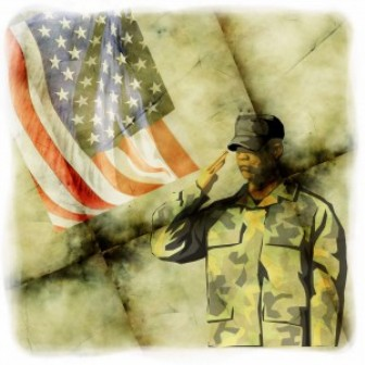 Hiring Vets - Soldier Painting