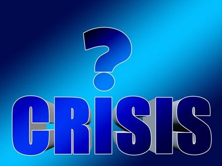 Employee Crisis - Blue Graphic