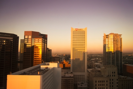 Phoenix Job Market - City Skyline