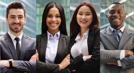 Workplace Diversity - headshots