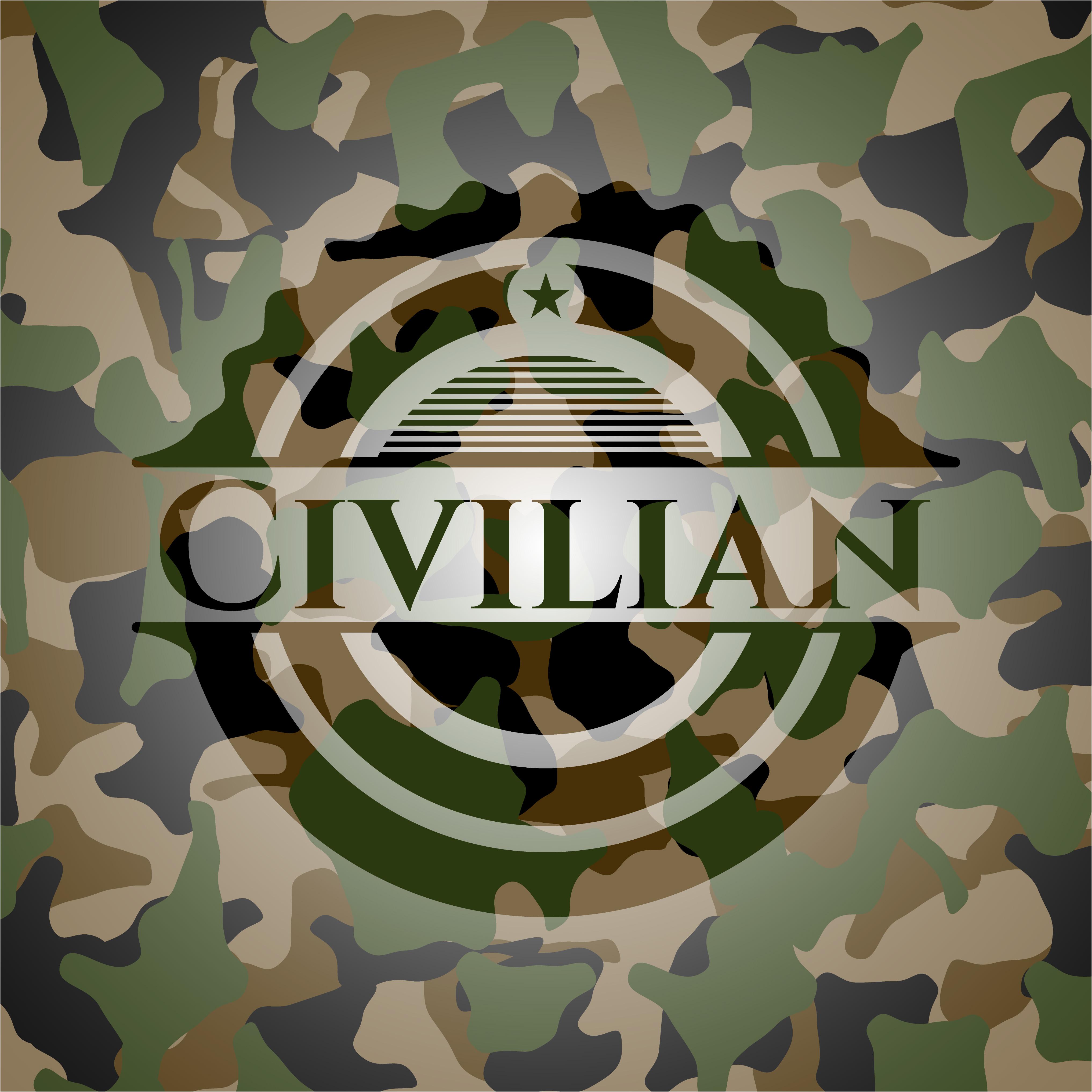 Military logo - camo