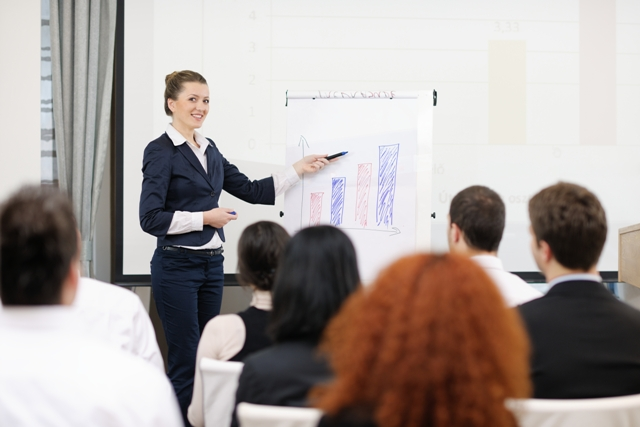 Presentation-Tips-Professional-Woman-with-Chart