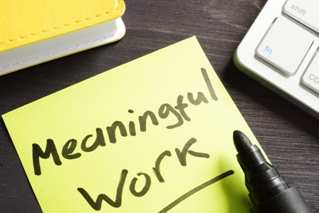 EVP - Meaningful Work Post it