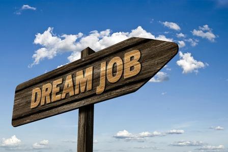 New Grads - Dream Job Sign
